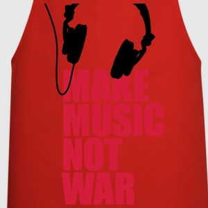 Make music not war Shirts - Cooking Apron