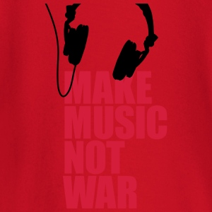 Make music not war T-shirts - T-shirt