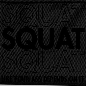 Squat Like Your Ass Depends On It T-Shirts - Kinder Rucksack