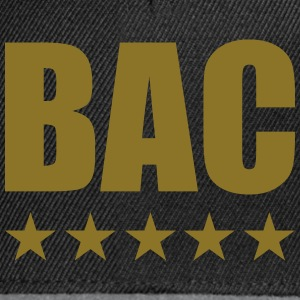 BAC Tee shirts - Casquette snapback