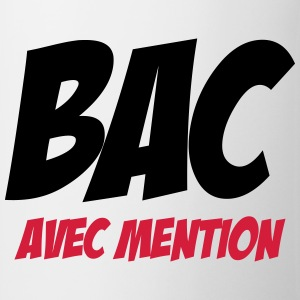 Bac avec mention Tee shirts - Tasse