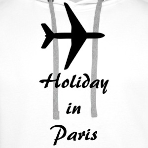 Holiday in Paris Tee shirts - Sweat-shirt à capuche Premium pour hommes