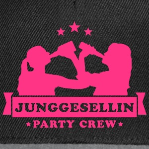 Junggesellin Party Crew T-Shirts - Snapback Cap