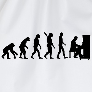 Evolution Klavier T-Shirts - Turnbeutel