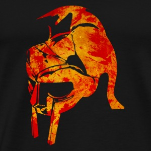 Bloody Spartan helmet Hoodies & Sweatshirts - Men's Premium T-Shirt