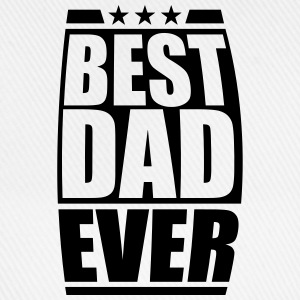 Best Dad Ever Cool Logo Design T-Shirts - Baseball Cap