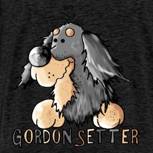 Funny Gordon Setter - Dog Hoodies & Sweatshirts - Men's Premium T-Shirt