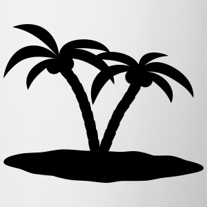 palm trees Shirts - Mug