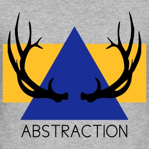 Abstraction Tröjor - Slim Fit T-shirt herr