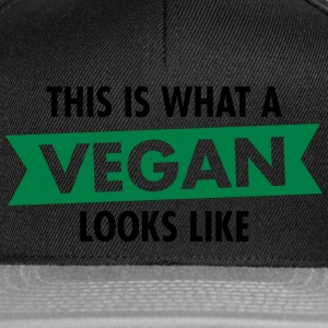 This Is What A Vegan Looks Like T-skjorter - Snapback-caps