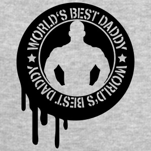 Cool Worlds Best Daddy Stamp T-Shirts - Männer Sweatshirt von Stanley & Stella