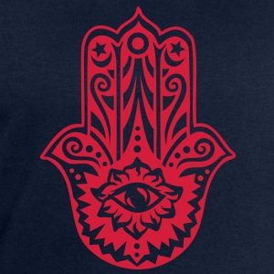 Hamsa Amulet, Hand of Fatima, Divine Protection T-Shirts - Men's Sweatshirt by Stanley & Stella