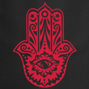 Hamsa Amulet, Hand of Fatima, Divine Protection T-shirts - Keukenschort