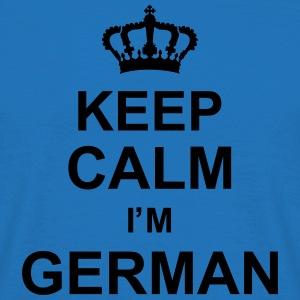 keep_calm_I'm_german_g1 Toppe - Herre-T-shirt