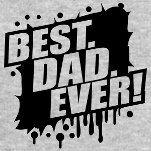 Best Dad Ever Graffiti Logo T-Shirts - Männer Sweatshirt von Stanley & Stella