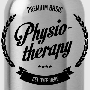 premium-basic-physiotherapy T-Shirts - Trinkflasche