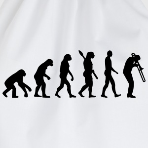 Evolution Posaune T-Shirts - Turnbeutel