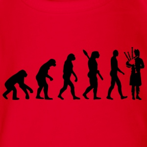 Evolution Dudelsack T-Shirts - Baby Bio-Kurzarm-Body