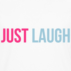 just laugh T-shirts - Långärmad premium-T-shirt herr