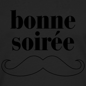 Bonne Soiree - Moustache T-Shirts - Men's Premium Longsleeve Shirt