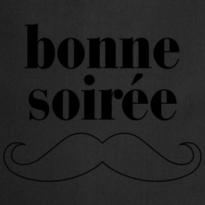 Bonne Soiree - Moustache T-Shirts - Cooking Apron