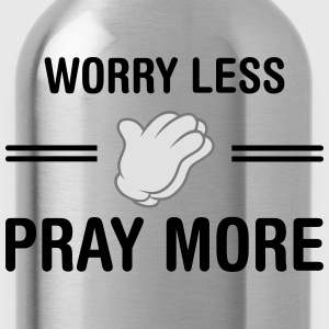 Worry Less - Pray More Tee shirts - Gourde