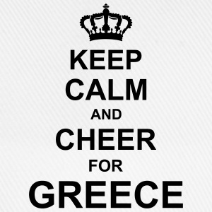 keep_calm_and_cheer_for_greece_g1 T-Shirts - Baseball Cap