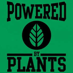 Powered by plants T-Shirts - Retro Tasche