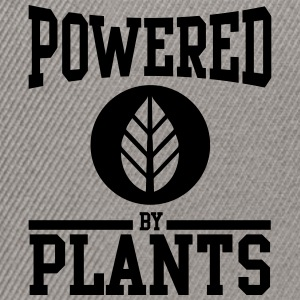 Powered by plants Camisetas - Gorra Snapback