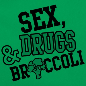 Sex, Drugs & Broccoli T-shirts - Retroväska