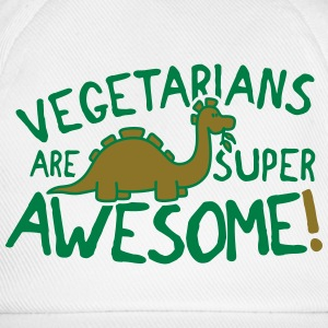 Vegetarians are super awesome! T-Shirts - Baseball Cap