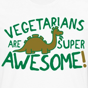 Vegetarians are super awesome! T-Shirts - Men's Premium Longsleeve Shirt