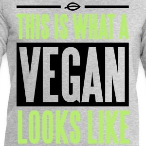 This is what a vegan looks like T-shirts - Sweatshirt herr från Stanley & Stella