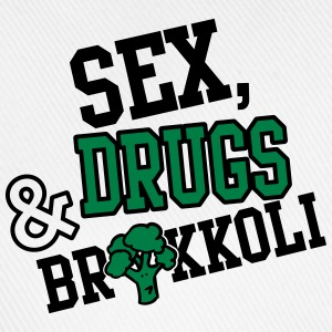 Sex, Drugs & Brokkoli T-Shirts - Baseballkappe