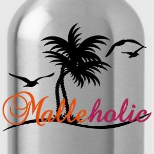 Malle-holic (2c) T-Shirts - Trinkflasche
