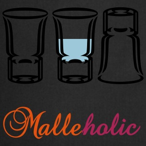 Malle-holic (2c) T-Shirts - Cooking Apron