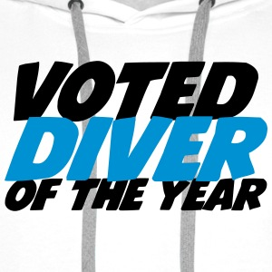 Voted Diver of the year ! T-shirts - Mannen Premium hoodie