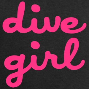 dive girl Shirts - Men's Sweatshirt by Stanley & Stella