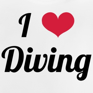 I Love Diving T-shirts - Baby T-shirt