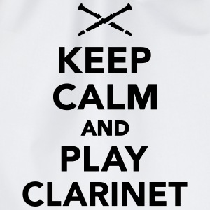 Keep calm and play Clarinet T-Shirts - Turnbeutel