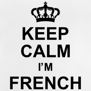 keep_calm_I'm_french_g1 Skjorter - Baby-T-skjorte