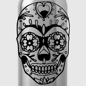 SugerSkull T-Shirts - Water Bottle