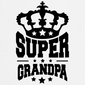 King King Crown Super morfar logotyp T-shirts - Förkläde