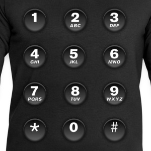 Numeric keypad of mobile phone T-Shirts - Men's Sweatshirt by Stanley & Stella
