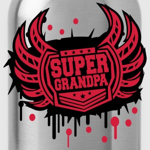 Cool Super opa wapenschild van graffiti T-shirts - Drinkfles