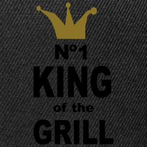 king of the grill - Snapback Cap
