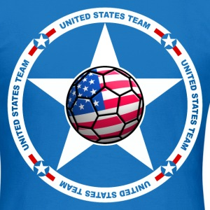 US soccer - football team Sweat-shirts - T-shirt Femme