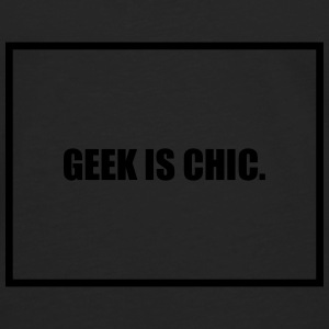 Geek is Chic T-Shirts - Men's Premium Longsleeve Shirt