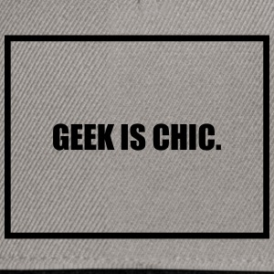 Geek is Chic T-Shirts - Snapback Cap