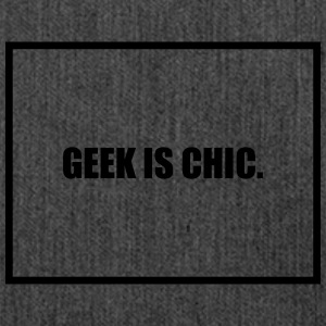 Geek is Chic T-Shirts - Shoulder Bag made from recycled material